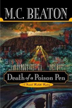 Death of a poison pen cover image