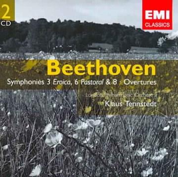 Symphonies. 3 Eroica, 6 Pastoral & 8 Overtures cover image