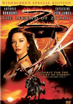 The legend of Zorro cover image