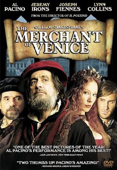William Shakespeare's The merchant of Venice cover image