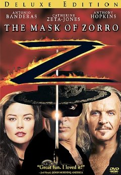 The mask of Zorro cover image