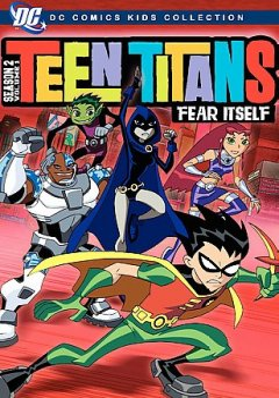 Teen titans. Season 2, Volume 1 , Fear itself cover image