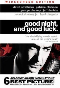 Good night, and good luck cover image