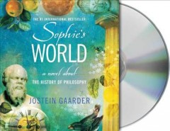 Sophie's world a novel about the history of philosophy cover image