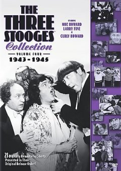 The Three Stooges collection. Volume four, 1943-1945 cover image