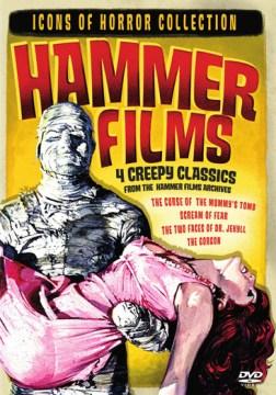 Hammer films 4 creepy classics cover image