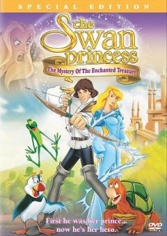 The swan princess the mystery of the enchanted treasure cover image