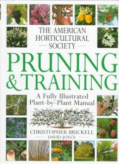 American Horticultural Society pruning & training cover image
