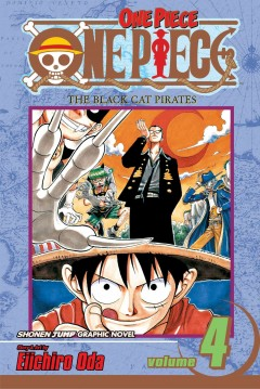 One piece. 4, The Black Cat Pirates cover image