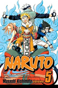 Naruto. 5,   The challengers cover image