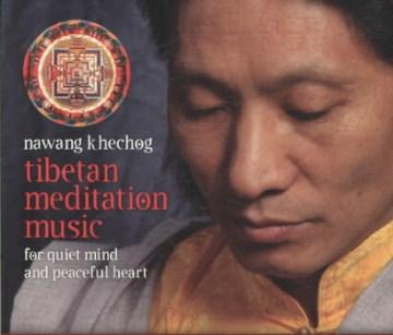 Tibetan meditation music cover image