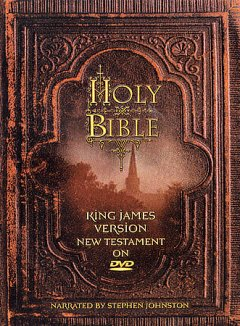 Holy Bible, King James version, New Testament on DVD cover image