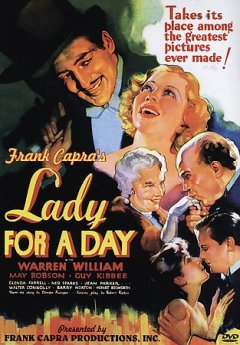 Lady for a day cover image
