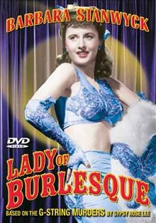 Lady of burlesque cover image