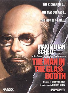 The man in the glass booth cover image