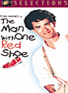 The man with one red shoe cover image