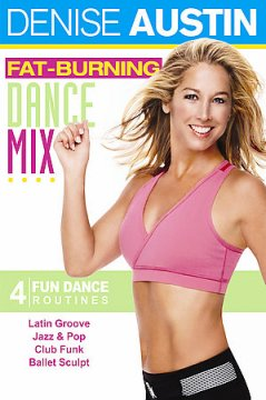 Fat burning dance mix cover image