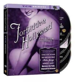 Forbidden Hollywood collection. Volume three cover image