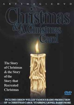 Christmas and a Christmas carol cover image