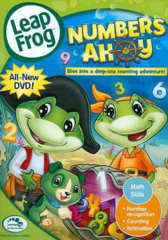LeapFrog. Numbers ahoy cover image