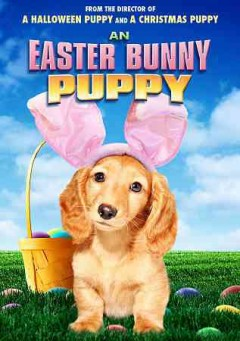 An Easter bunny puppy cover image