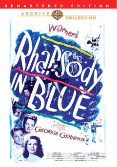 Rhapsody in blue the story of George Gershwin cover image
