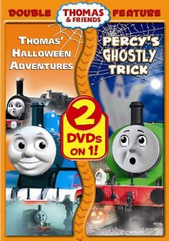 Thomas' halloween adventures Percy's ghostly trick cover image