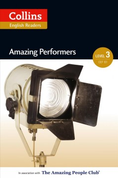 Amazing performers b1 (collins amazing people elt readers) cover image