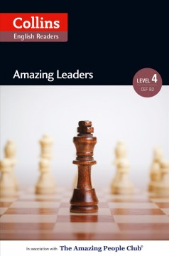 Amazing leaders b2 (collins amazing people elt readers) cover image