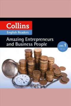 Amazing entrepreneurs & business people cover image