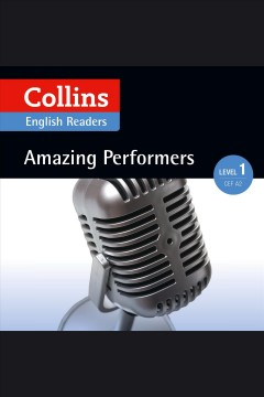 Amazing performers cover image