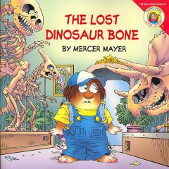 The lost dinosaur bone cover image