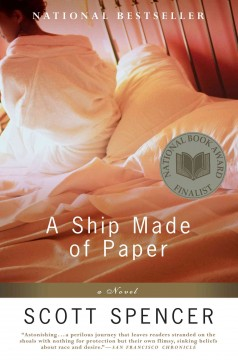 A ship made of paper : a novel cover image