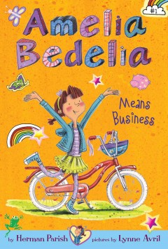 Amelia Bedelia means business cover image