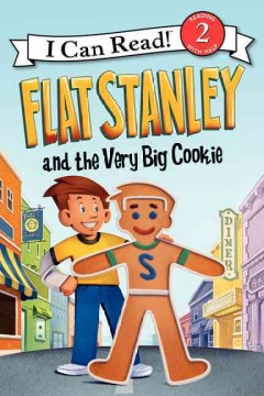 Flat Stanley and the very big cookie cover image