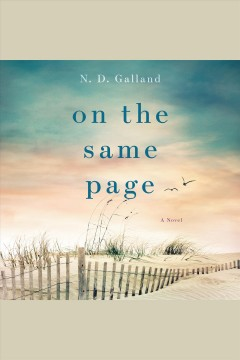 On the same page : a novel cover image