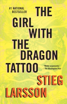 The girl with the dragon tattoo book 1 of the millennium trilogy cover image