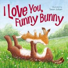I love you, funny bunny cover image