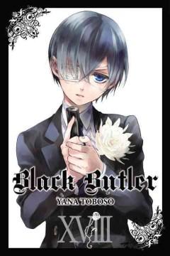 Black butler. 18 cover image