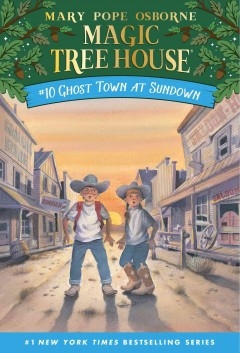 Ghost town at sundown cover image