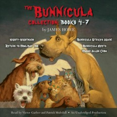 The Bunnicula collection. Books 4-7 cover image