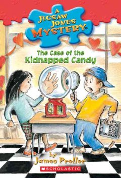 The case of the kidnapped candy cover image