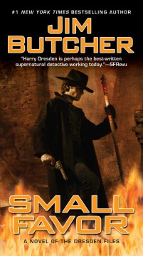 Small favor : a novel of the Dresden files cover image