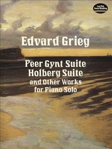 Peer Gynt suite, Holberg suite, and other works for piano solo cover image
