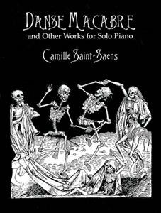 Danse macabre and other works for solo piano cover image