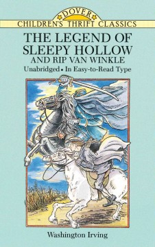 The legend of Sleepy Hollow and Rip Van Winkle cover image