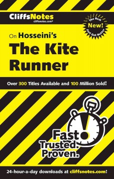 Cliffsnotes on Hosseini's The kite runner cover image