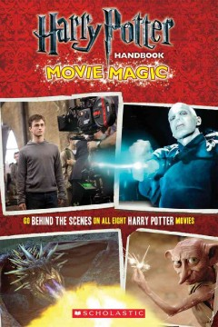 Harry Potter handbook, movie magic cover image