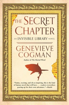 The secret chapter : an invisible library novel cover image