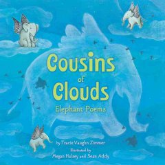 Cousins of clouds : elephant poems cover image